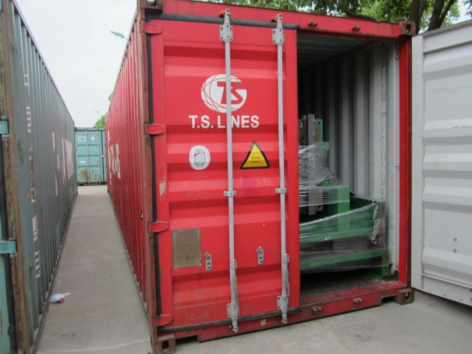 Container loading supervision service
